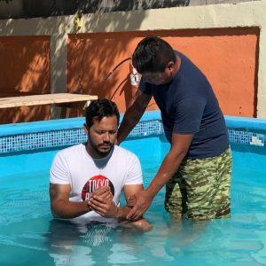 baptism in refugee ministry